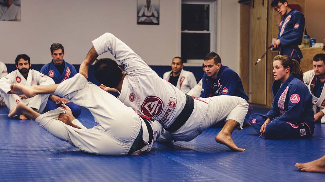 jiu-jitsu brésilien montreal gracie barra bruno fernandes